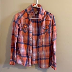 Loved this flannel, perfect for fall or winter